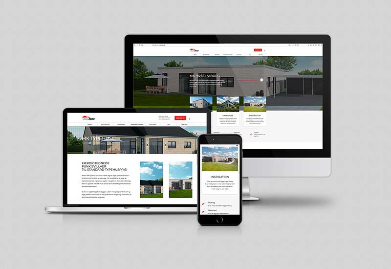 Hjemmeside design Wordpress