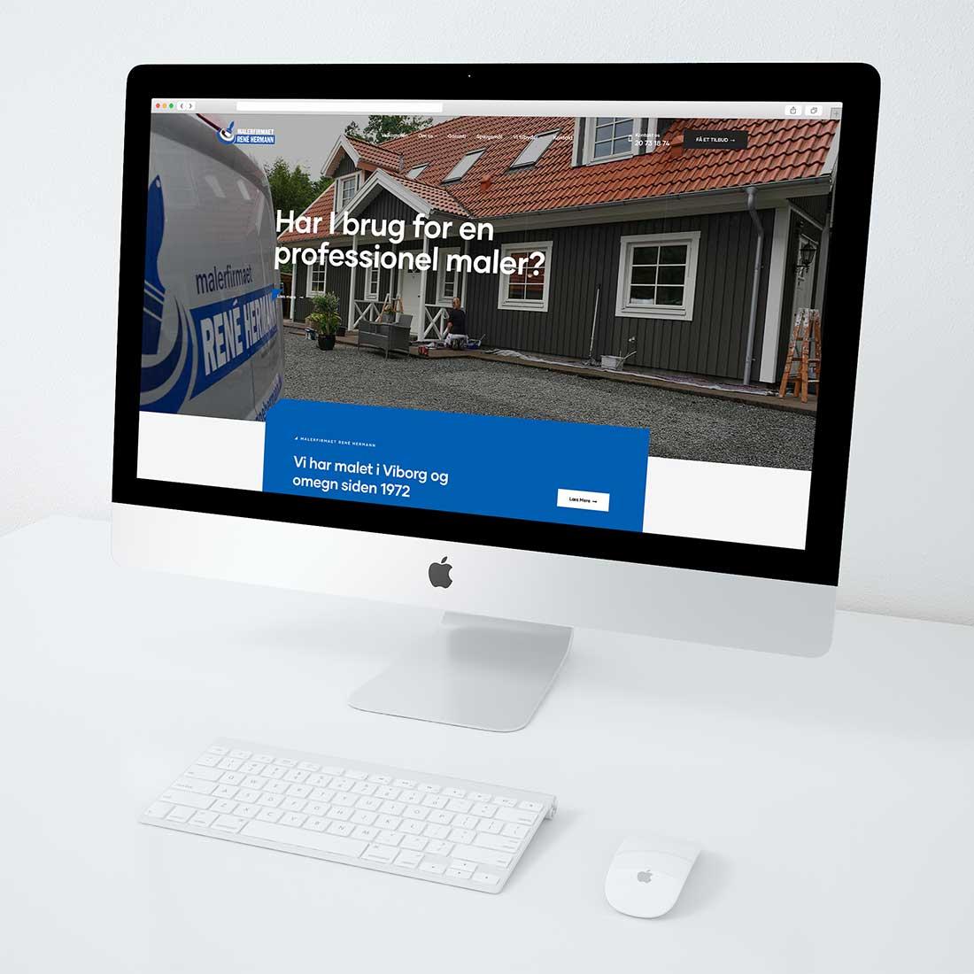 Hjemmesidedesign
